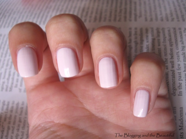 Essie Fiji Swatch on nails