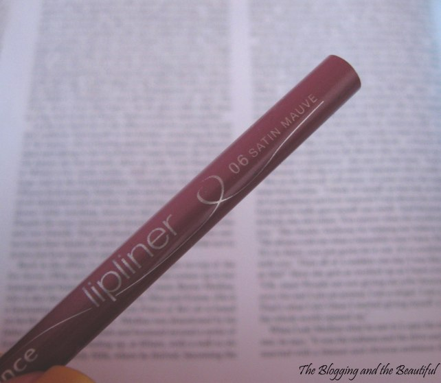 essence satin mauve lip liner