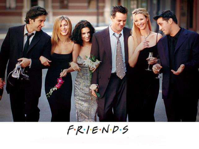 friends tv series logo