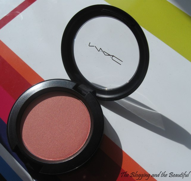 mac blush springsheen