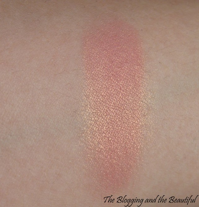 mac blush springsheen swatch