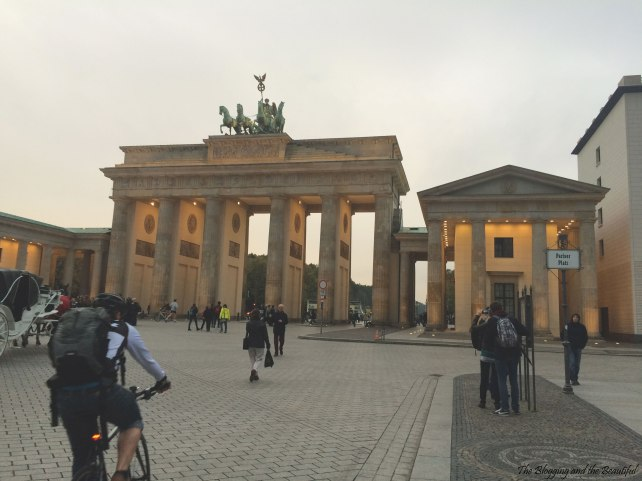 berlin trip photos memories brandenburg tor