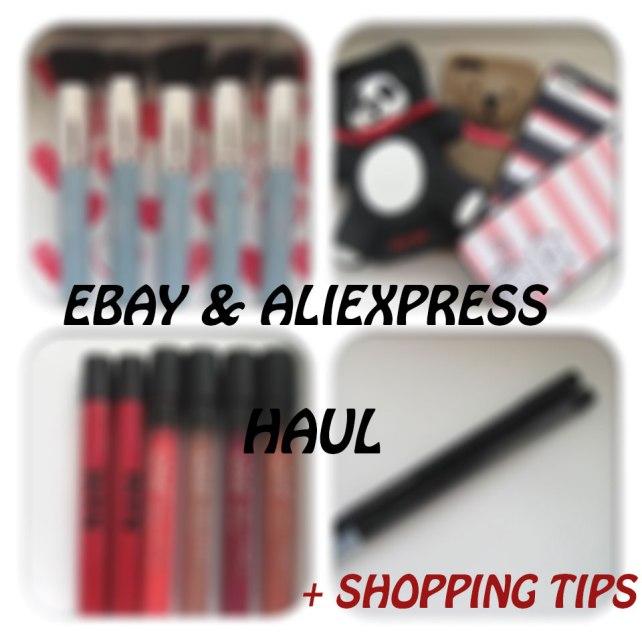 ebay aliexpress haul