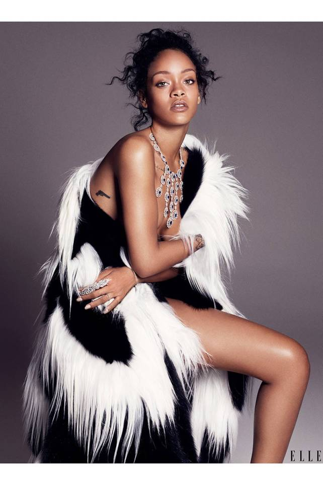 rihanna elle usa december cover story