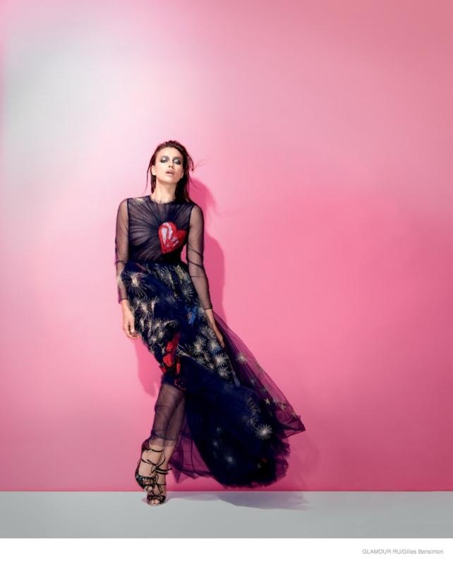 irina shayk glamour russia december 2014 cover
