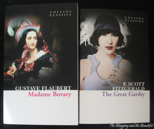 shopping new books reading the great gatsby madame bovary