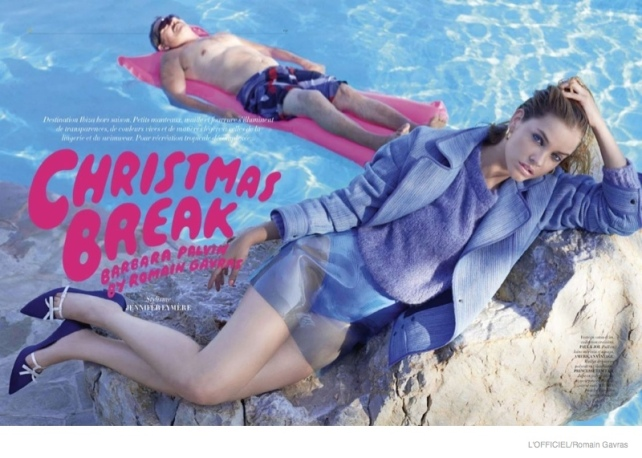 this week i like barbara palvin L'Officiel paris editorial christmas break