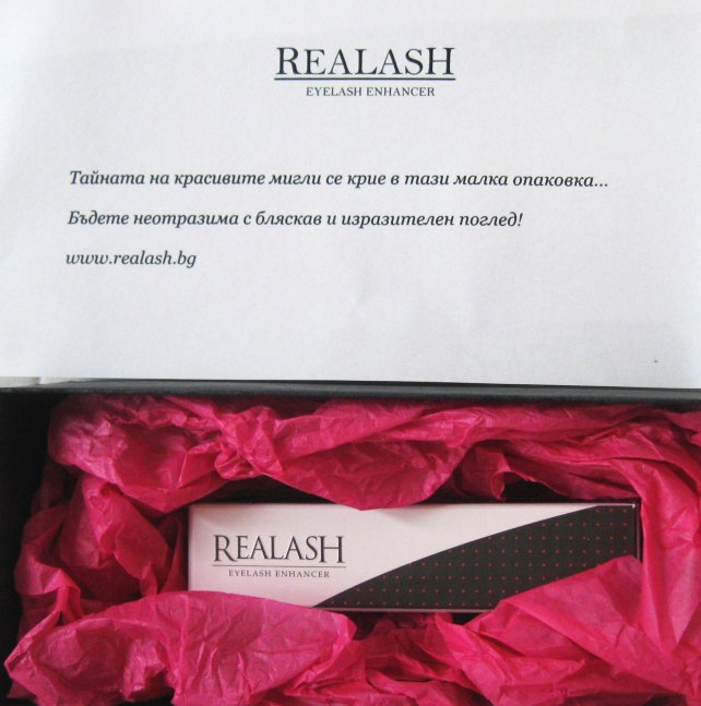 realash lashes length thickness test experiment pr