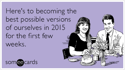 2015 beauty lifestyle resolutions new year