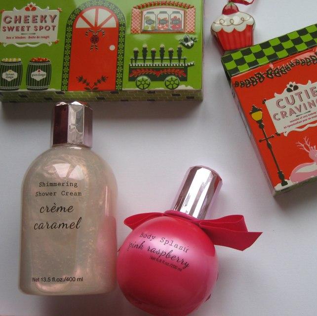 h&m cream shower body splash benefit christmas