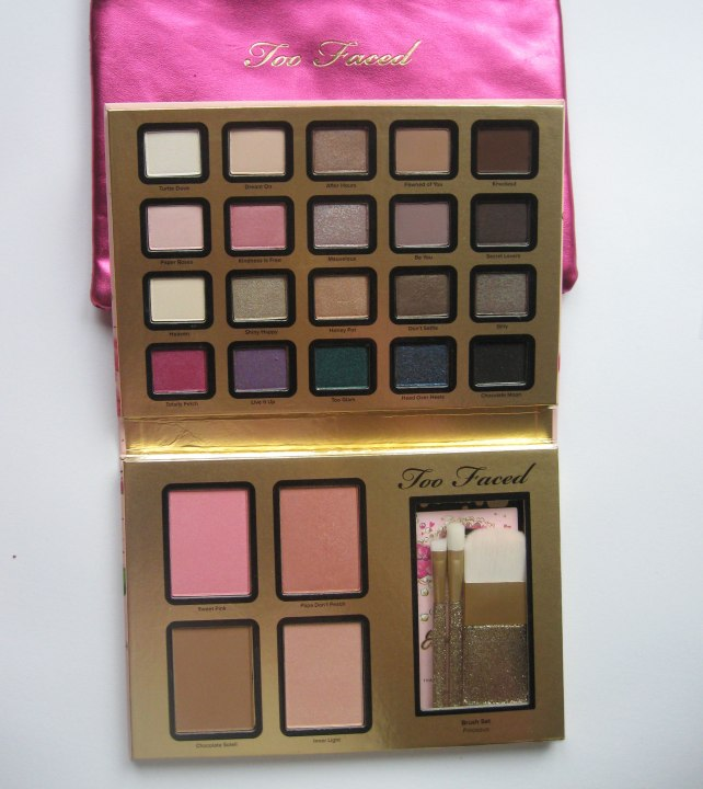 too faced everything nice palette christmas 2014 collection