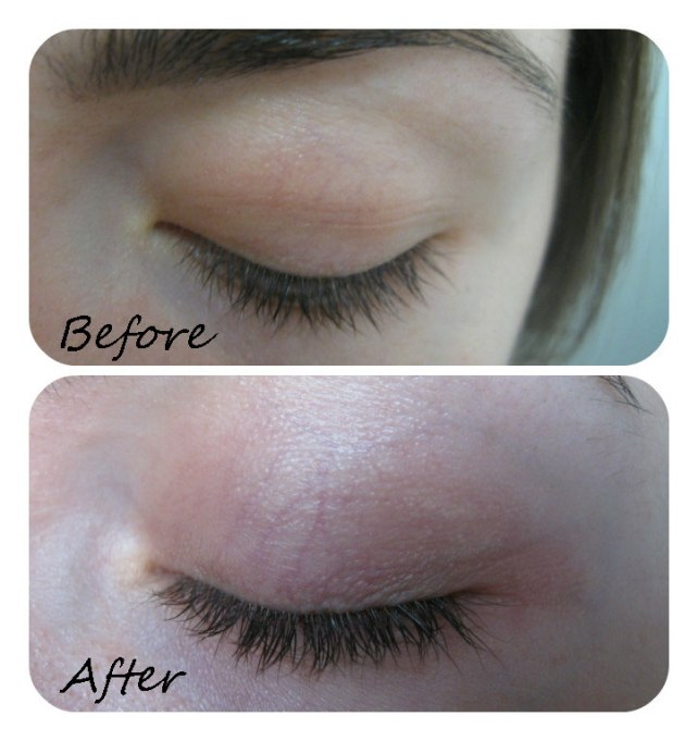 realash eyelashes serum growth results