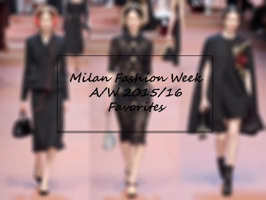 milan fashion week favorites