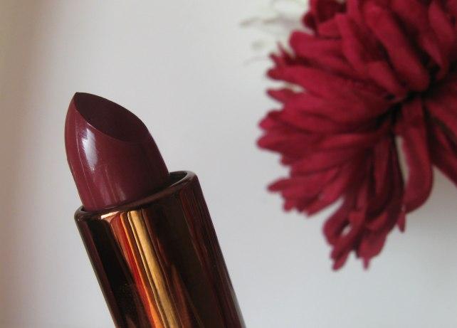 h&m lipstick bohemian plum review