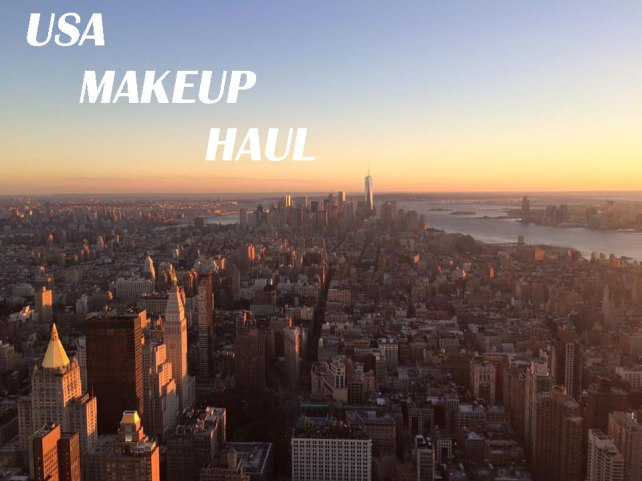 usa makeup haul blog post