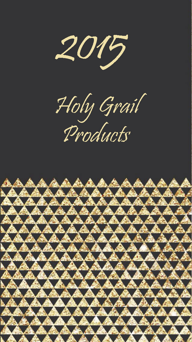 2015 holy grail products